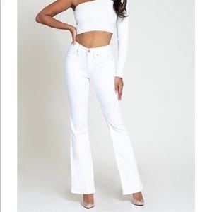 YMI White Jeans Bell Bottom
